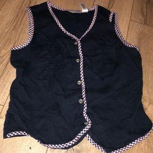 RUSS Liz Claiborne company vest